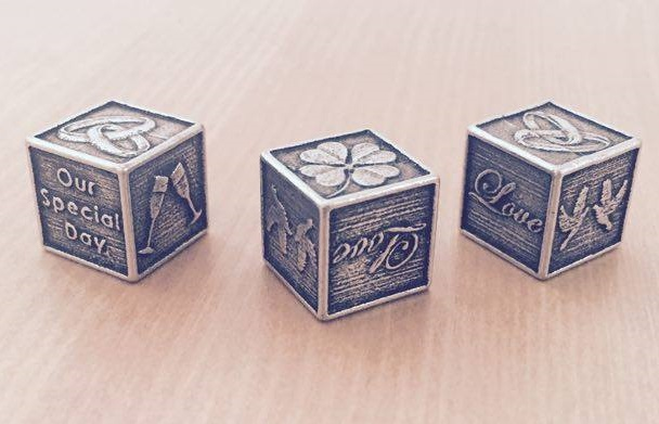 Wedding Dice Keepsake Gift
